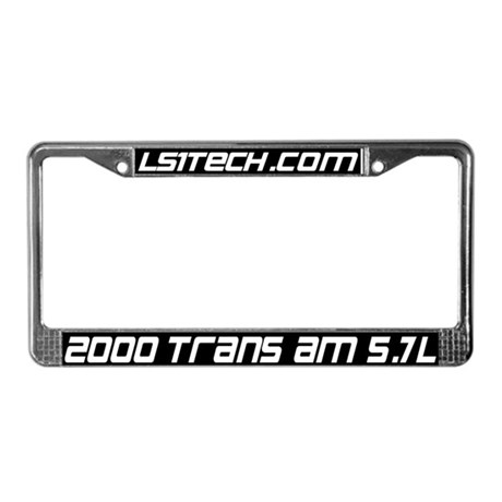 00 Trans Am Plate Frame