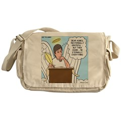 Eternally Grateful Messenger Bag