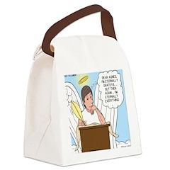 Eternally Grateful Canvas Lunch Bag