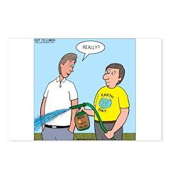 Earthday Weeding Postcards (Package of 8)