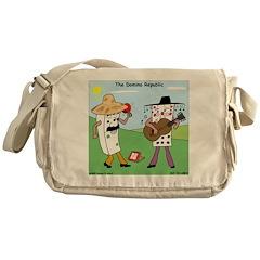 Domino Republic Messenger Bag
