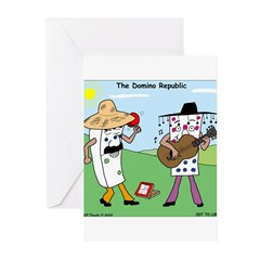 Domino Republic Greeting Cards (Pk of 10)