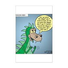 Dragon Kid Posters