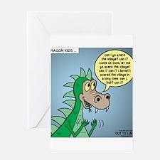 Dragon Kid Greeting Card