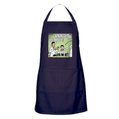 Dentists and Flossing Apron (dark)