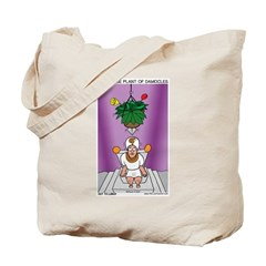 House Plant of Damocles Tote Bag