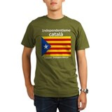 Catalan independence Organic Men's T-Shirt (dark)