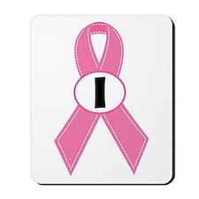Breast Cancer 1 Year Ribbon Mousepad