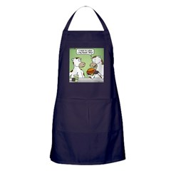 Cow Fast Food Apron (dark)