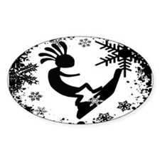 KOKO SNO BO Oval Stickers