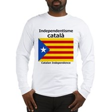 Catalan Independence (F and B) Long Sleeve T-Shirt