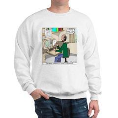 Cartoonist at Work Sweatshirt