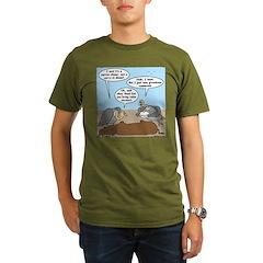 Buzzard Carry-In Dinner Organic Men's T-Shirt (dar