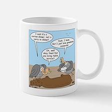 Buzzard Carry-In Dinner Mug