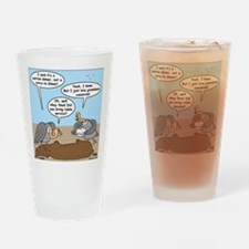 Buzzard Carry-In Dinner Drinking Glass