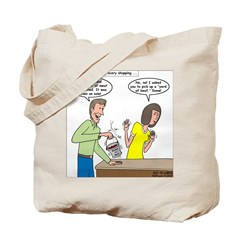 Bucket of Meat Tote Bag