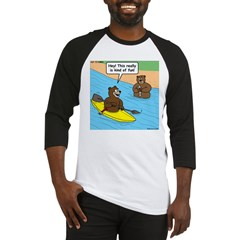 Bear Kayaking Baseball Jersey