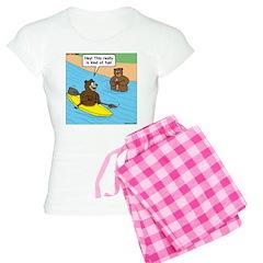 Bear Kayaking Pajamas
