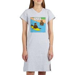 Bear Kayaking Women's Nightshirt