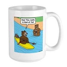 Bear Kayaking Mug