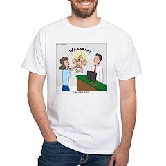 Baby Check White T-Shirt