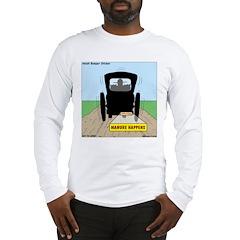 Amish Bumper Sticker Long Sleeve T-Shirt