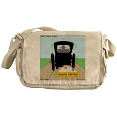 Amish Bumper Sticker Messenger Bag