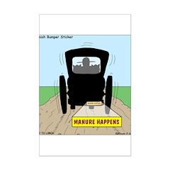 Amish Bumper Sticker Posters