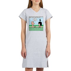 Adam and Eve Pickup Lines Women's Nightshirt