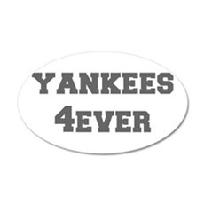 yankees-4ever-fresh-gray Wall Decal