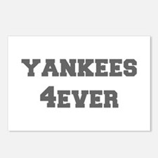 yankees-4ever-fresh-gray Postcards (Package of 8)