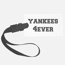 yankees-4ever-fresh-gray Luggage Tag