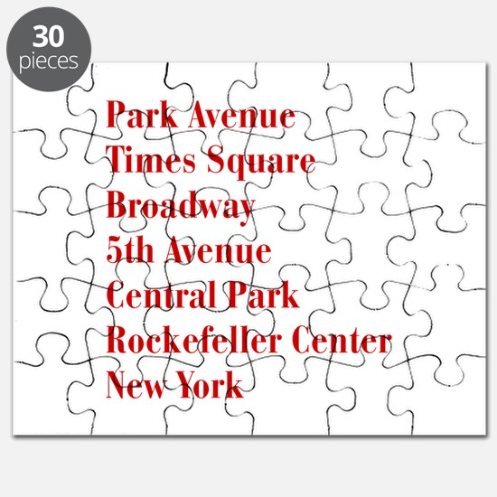 park-ave-bod-dark-red Puzzle