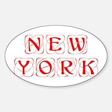 new-york-kon-red Decal