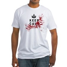 Keep Calm Bloody Shirt