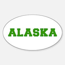alaska-fresh-green Decal