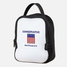 Conservative Slogan Neoprene Lunch Bag