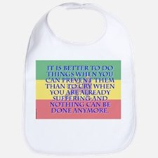 It Is Better To Do Things - Amharic Cotton Baby Bi