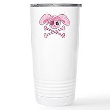 Pink Pirate Travel Mug