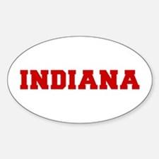 indiana-fresh-red Decal