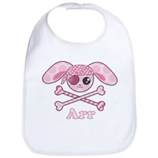 Pink Pirate Bib