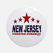 New Jersey Forever Durable Ornament (Round)