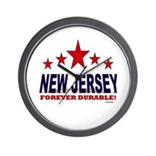 New Jersey Forever Durable Wall Clock