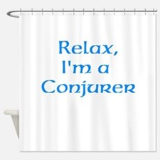 Conjurer Shower Curtain