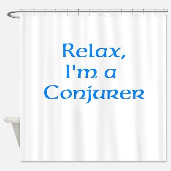 Conjurer Shower Curtain