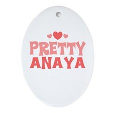 Anaya Oval Ornament