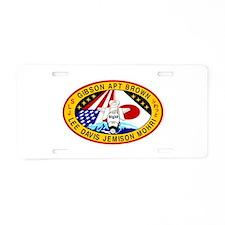 STS-47 Endeavour Aluminum License Plate