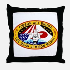STS-47 Endeavour Throw Pillow