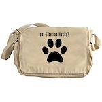 got Siberian Husky? Messenger Bag