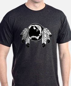 First Nation T-Shirts Native Wildlife Art